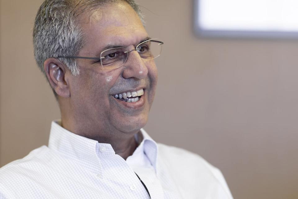 Noel Tata, managing director of Tata International and chairman of Trent Ltd., speaks during an interview in Mumbai, India, on Wednesday, June 20, 2019. For nearly a decade,Tata Grouphas beenInditex SA's partner running Zara stores in India. Now, the country's largest conglomerate is building its own apparel empire as trend-focused as Zara -- but at half the price. Photographer: Kanishka Sonthalia/Bloomberg
