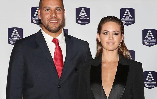 Jesinta and her husband AFL star Buddy Franklin. Source: Getty