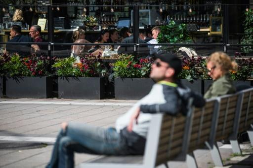 Sweden never imposed full lockdown measures and bars, cafes and restaurants have remained open
