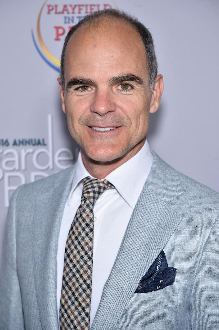 <p>Actor Michael Kelly attends the Garden Brunch prior to the 102nd White House Correspondents' Dinner, April 30. <i>(Photo: Dimitrios Kambouris/Getty Images)</i></p>