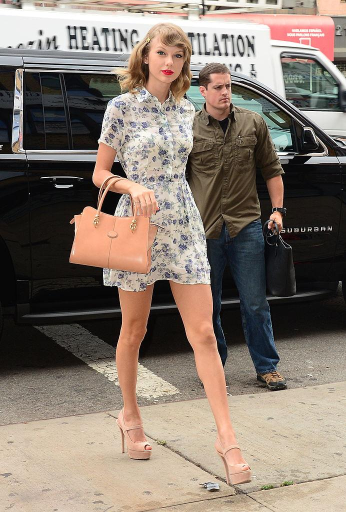 Celebrity Sightings In New York City - July 09, 2014