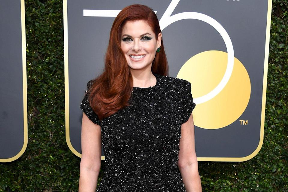 Debra Messing on film The Purged , voting, and why you should check your voter registration ASAP