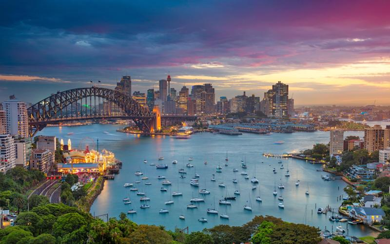 From climbing the Sydney Harbour Bridge to riding the ferris wheel at Luna Park there's so much to do in Sydney - This content is subject to copyright.