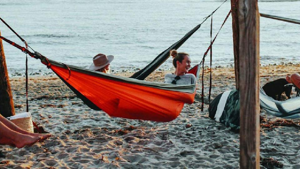 Lounge all day long in this top-rated hammock.