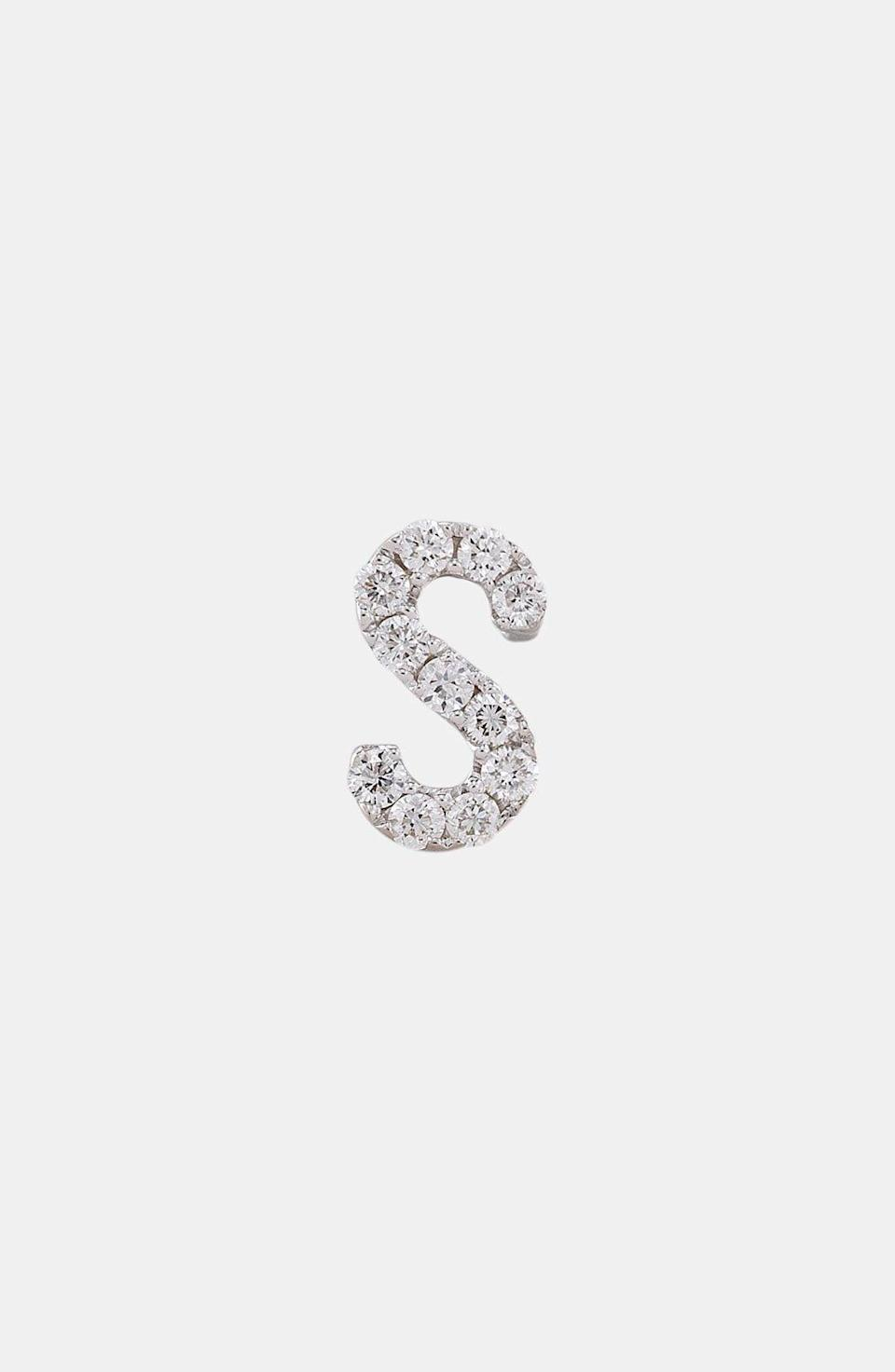 """<p><strong>BONY LEVY</strong></p><p>nordstrom.com</p><p><strong>$395.00</strong></p><p><a href=""""https://go.redirectingat.com?id=74968X1596630&url=https%3A%2F%2Fshop.nordstrom.com%2Fs%2Fbony-levy-single-initial-earring-nordstrom-exclusive%2F3503351&sref=https%3A%2F%2Fwww.harpersbazaar.com%2Ffashion%2Ftrends%2Fg34435299%2Fbest-custom-jewelry%2F"""" rel=""""nofollow noopener"""" target=""""_blank"""" data-ylk=""""slk:Shop Now"""" class=""""link rapid-noclick-resp"""">Shop Now</a></p><p>Small but impactful, this single diamond initial earring will add a personalized shine to her earring game. </p>"""