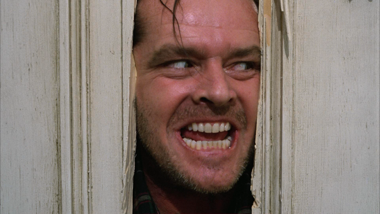 Here's Johnny… Stephen King still hates The Shining – Credit: Warner Bros