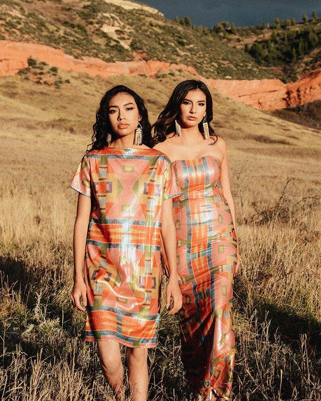 "<p>Northern Cheyenne and Crow designer Bethany Yellowtail's fashion and accessories brand offers everything from graphic T-shirts and sweatshirts to skirts, scarves, and dresses. But that's not all— <a href=""https://byellowtail.com/collections/all"" rel=""nofollow noopener"" target=""_blank"" data-ylk=""slk:B.Yellowtail"" class=""link rapid-noclick-resp"">B.Yellowtail</a> also provides a platform for other Indigenous, Native American, and First Nations artists, designers, and creators through the <a href=""https://byellowtail.com/collections/the-collective"" rel=""nofollow noopener"" target=""_blank"" data-ylk=""slk:B.Yellowtail Collective"" class=""link rapid-noclick-resp"">B.Yellowtail Collective</a>. There, you can find handmade jewelry, beadwork, accessories, and even beauty products.</p><p><a class=""link rapid-noclick-resp"" href=""https://byellowtail.com/collections/all"" rel=""nofollow noopener"" target=""_blank"" data-ylk=""slk:SHOP NOW"">SHOP NOW</a></p><p><a href=""https://www.instagram.com/p/B6LglSUAp38/?utm_source=ig_embed&utm_campaign=loading"" rel=""nofollow noopener"" target=""_blank"" data-ylk=""slk:See the original post on Instagram"" class=""link rapid-noclick-resp"">See the original post on Instagram</a></p>"
