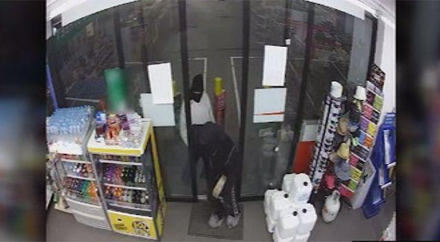 The pair had been in the area for two hours prior to the robbery.  Source: Victoria Police