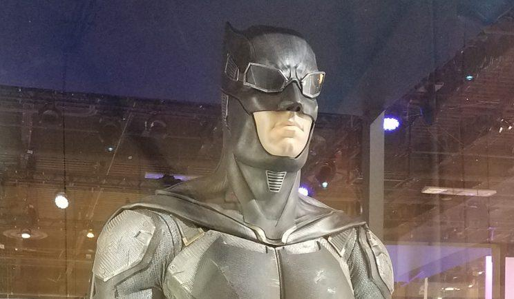 Get up close with Batman's new 'Justice League' Batsuit