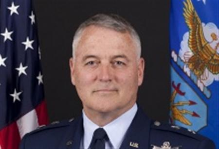United States Air Force Major General Michael Carey is seen in an undated handout photo.
