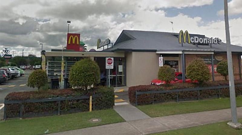 The Queensland McDonalds refused to comment on the matter when contacted by 7 News Online. Source: Google