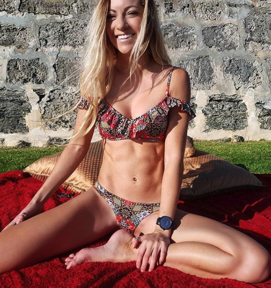 She isn't shy about showing off her body on social media to her fans either. Photo: Instagram