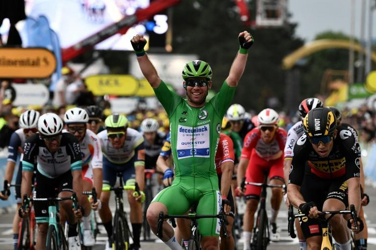 Mark Cavendish won after a flat run to Valence for victory number 33 on the Tour de France