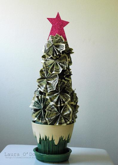 """<p>One of the nice things about gifting this money tree is that no one has to worry about accidentally killing it. <i>(Photo: <a href=""""http://itsallrosie.blogspot.com/2012/02/money-tree-tutorial.html"""" rel=""""nofollow noopener"""" target=""""_blank"""" data-ylk=""""slk:It's All Rosie"""" class=""""link rapid-noclick-resp"""">It's All Rosie</a>)</i></p>"""