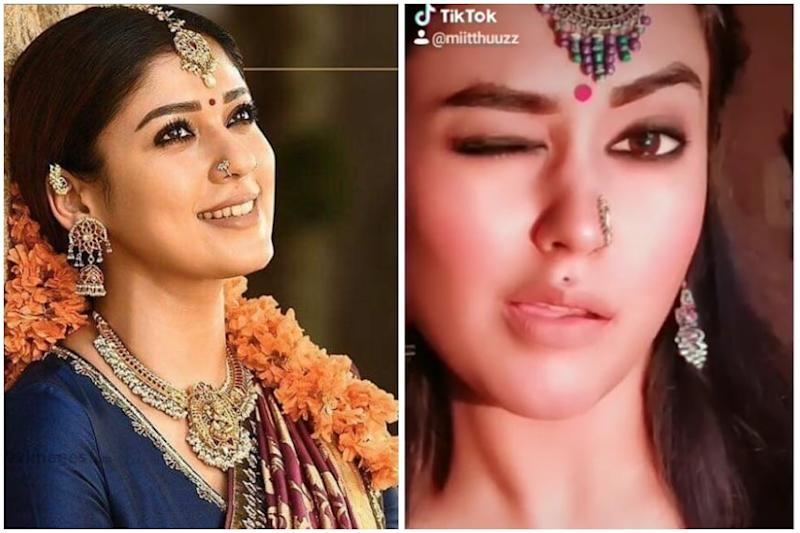 South Star Nayanthara's Lookalike Mithu Vigil has Left Netizens Stunned