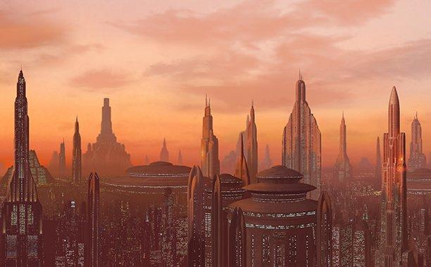 <p>The democratic Galactic Republic, led by an elected Supreme Chancellor and supported by the Jedi Order, governs the galaxy through a thousand-year era of peace and prosperity.</p>  <p></p>