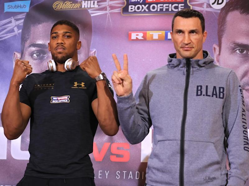 Joshua is one step for superstardom (Getty)