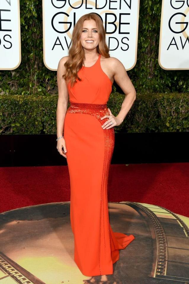 Best: Amy Adams in Atelier Versace at the 73rd Annual Golden Globe Awards.