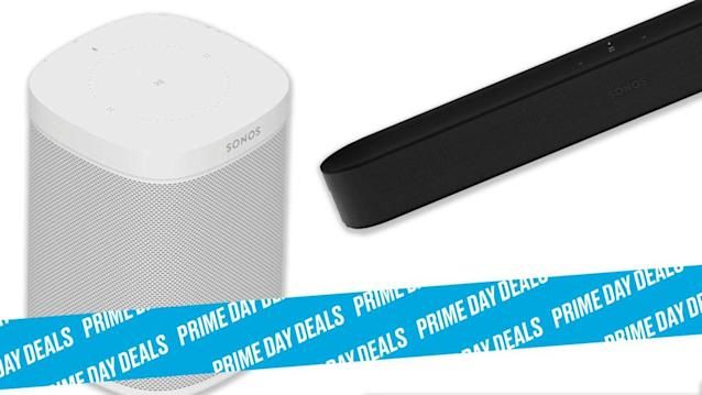 Photo Illustration by Elizabeth Brockway/The Daily Beast * Sonos Beam Smart TV Sound Bar with Amazon Alexa Built-in + $100 in Amazon Gift Card, $360 (28% off) * Sonos One Smart Speaker with Amazon Alexa Built-in + $50 Amazon Gift Card, $179 (28% off) * Smart home speaker, compact design to fit anywhere, voice control built in. * Shop the rest of our other Prime Day deal picks here. Not a Prime member yet? Sign up here.Sonos knows how to make a good speaker and teaming up with Amazon Alexa for its smart home capabilities was a great move. Together, you're getting leading capabilities both for your smart home and for your ears from two companies who're experts in their respective fields. On top of that, Amazon is giving you up to $100 in gift cards so you can get even more upgrade for your home (or a few Kindle books).   Shop on Amazon >Let Scouted guide you to the best Prime Day deals. Shop Here >Scouted is internet shopping with a pulse. Follow us on Twitter and sign up for our newsletter for even more recommendations and exclusive content. Please note that if you buy something featured in one of our posts, The Daily Beast may collect a share of sales.Read more at The Daily Beast.Got a tip? Send it to The Daily Beast hereGet our top stories in your inbox every day. Sign up now!Daily Beast Membership: Beast Inside goes deeper on the stories that matter to you. Learn more.