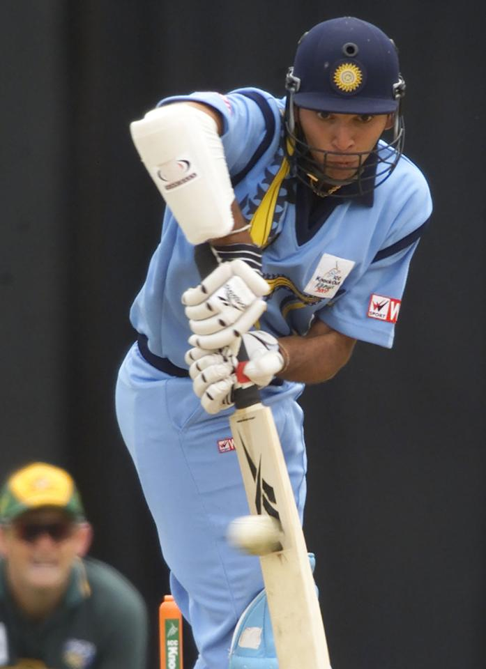 ICC Knockout, 2000: That same year, Yuvraj Singh made the cricket world take notice of his batting talent when he scored 84 of 80 balls, in his first ever ODI innings no less, against a top-notch bowling attack of Australia which had already sent India's three batting maestros— Sachin, Ganguly and Dravid - back to the pavilion. His innings which included 12 elegant boundaries helped India win the Quarter Final to eventually reach the finals of the tournament. (Image: Reuters)