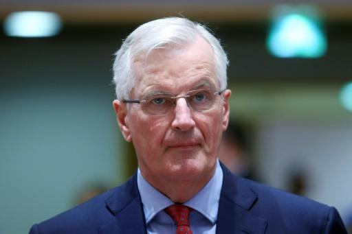 "Chief EU negotiator for Brexit, Michel Barnier said ""the clock is ticking"" for Britain to resolve its post-Brexit border with Ireland"