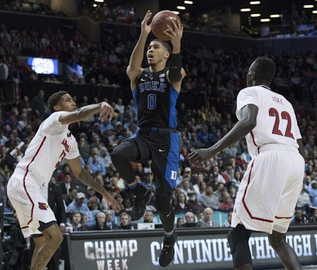 Duke's Jayson Tatum is an excellent scorer. (AP)