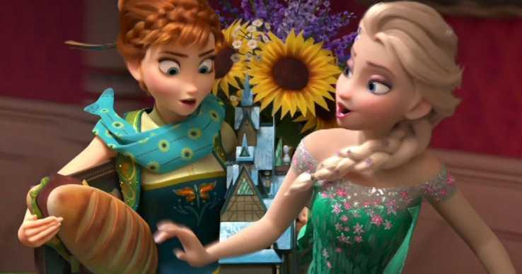Frozen 2 sees the return of Anna and Elsa