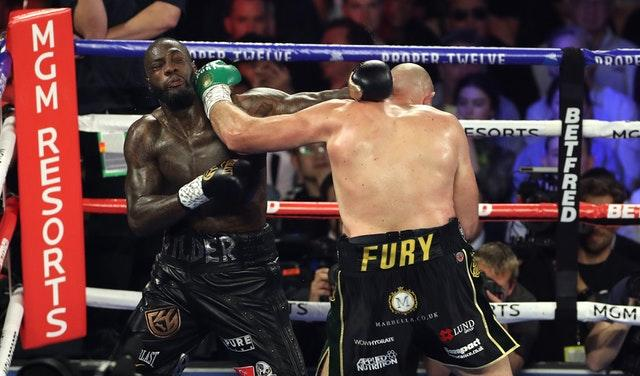 Tyson Fury's next fight won't be vs. Deontay Wilder, Bob Arum says