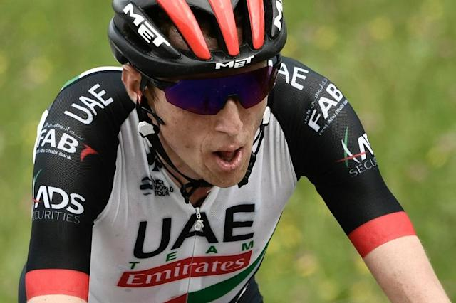 Ireland's Dan Martin resisted a late challenge from Sky's Welsh all-rounder Geraint Thomas to clinch his first win in 16 months on Friday (AFP Photo/Philippe LOPEZ)