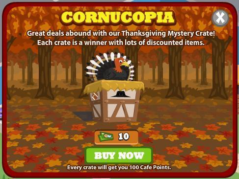 Thanksgiving Mystery Crate