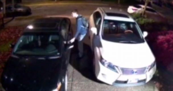 Suspected car burglar gets run over by his own vehicle in