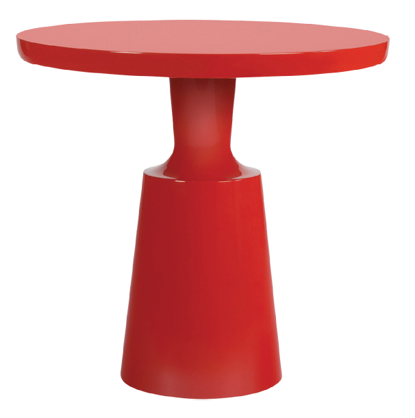 """Holly Hunt Peso side table; to the trade. <a rel=""""nofollow"""" href=""""https://www.hollyhunt.com/default.aspx"""">hollyhunt.com</a>"""