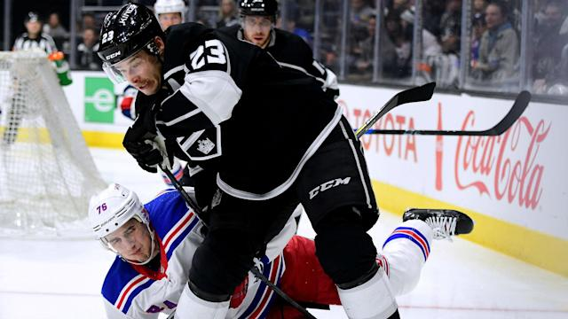 The Los Angeles Kings' Dustin Brown was handed a one-game suspension in the NHL.