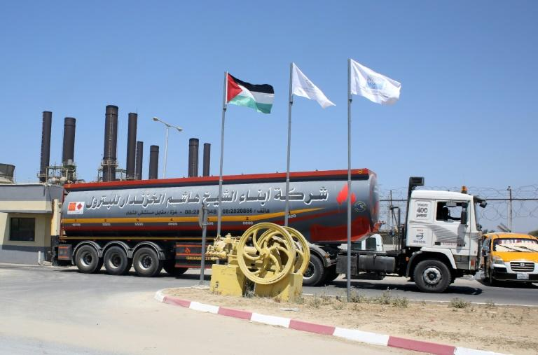 The fuel cut for the Gaza Strip was personally ordered by Prime Minister Benjamin Netanyahu (AFP Photo/SAID KHATIB)