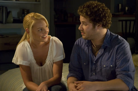 Katherine Heigl has this to say about Seth Rogen's recent comments about her