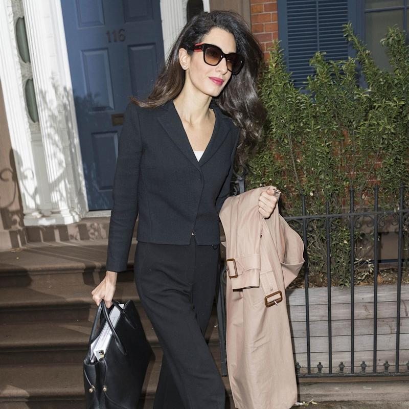 4183b205c648 Amal Clooney Reinvents the Power Suit Once Again