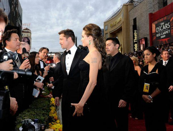 PHOTO: Actors Brad Pitt and Angelina Jolie arrive at the 81st Annual Academy Awards held at Kodak Theatre, Feb. 22, 2009 in Los Angeles. (Kevork Djansezian/Getty Images, FILE)