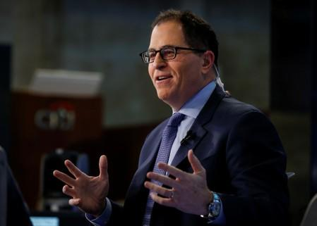 Dell CEO Michael Dell speaks during an interview with CNBC on the floor of the NYSE in New York