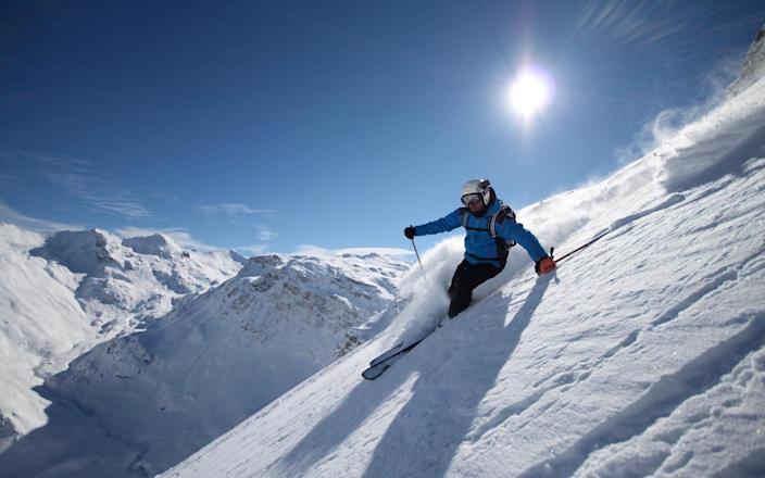 High-altitude resorts in Val d'Isere remain open until the end of April