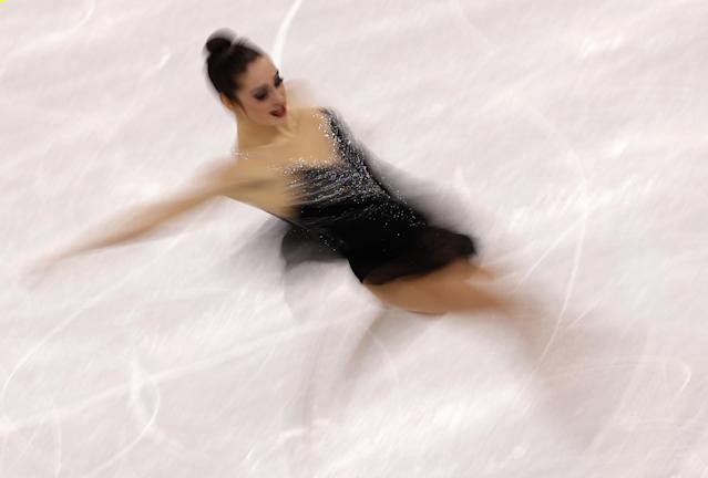 Figure Skating - Pyeongchang 2018 Winter Olympics - Women Single Skating free skating competition final - Gangneung Ice Arena - Gangneung, South Korea - Kaetlyn Osmond of Canada competes. REUTERS/Lucy Nicholson