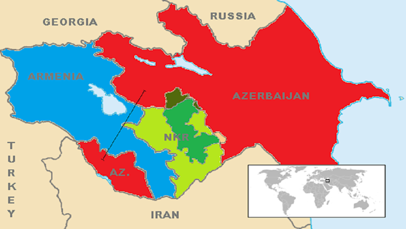 Nagorno-Karabakh Dispute: Armenia, Azerbaijan Accuse Each Other of Ceasefire Violation in Disputed Territory