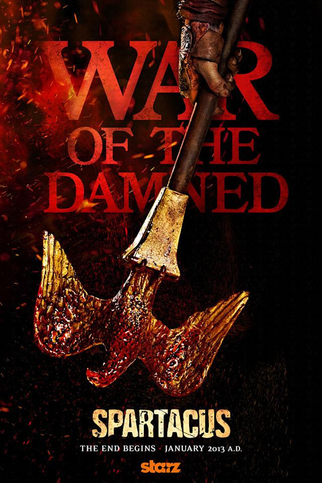 """""""Spartacus: War of the Damned"""" Poster"""