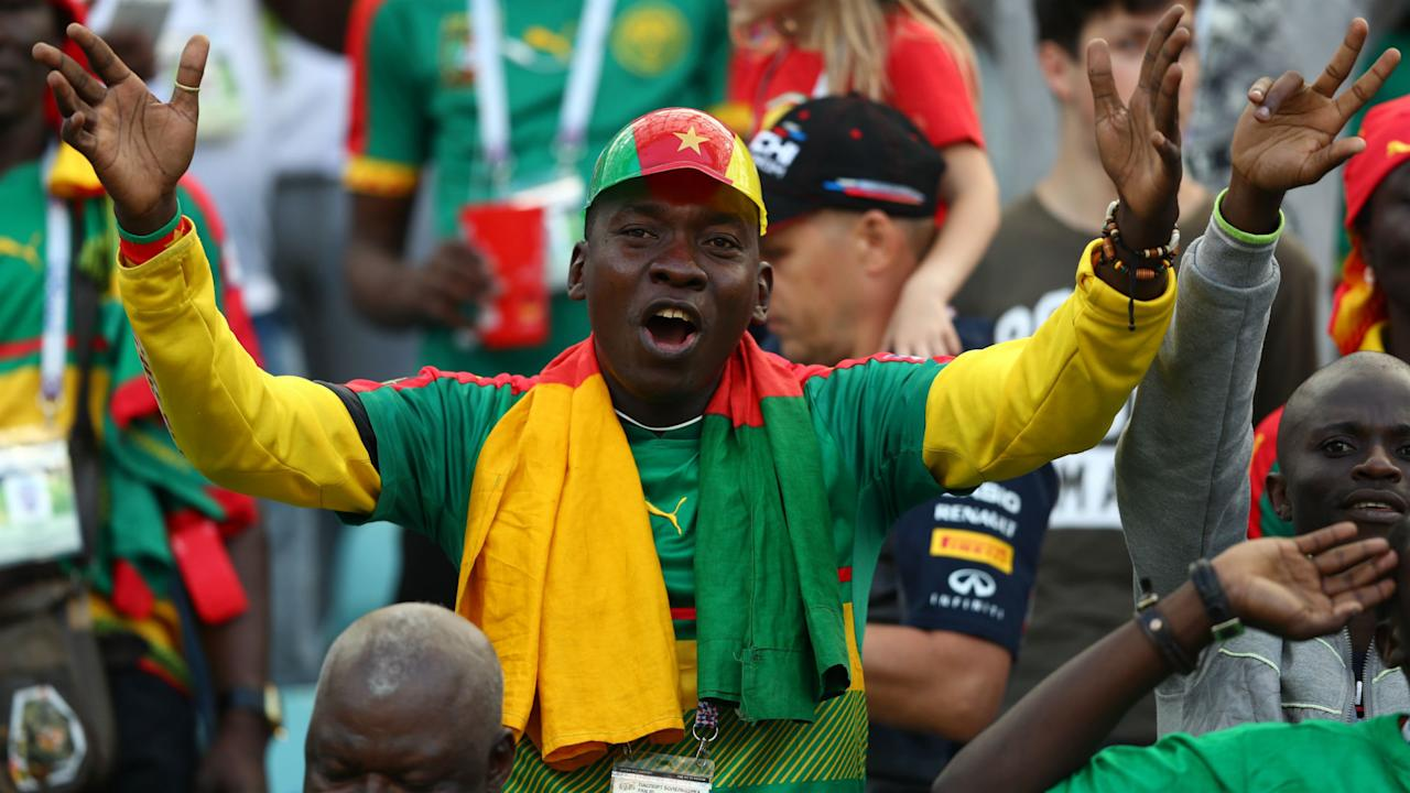 The city by the Black Sea welcomed the Indomitable Lions and cheered for the African champions against the reigning World Champions in Sunday's game