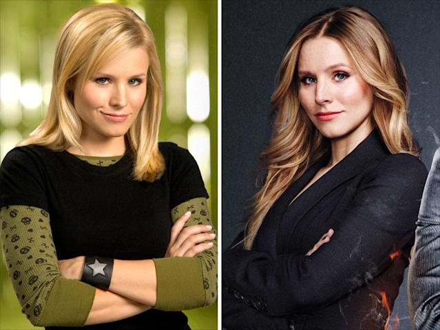 "<strong>Kristen Bell</strong><br> <strong>Played:</strong> Snarky sleuth Veronica Mars<br><strong>Availability:</strong> Yes, otherwise, there's no point<br><br>As we said, Bell is the crucial element to the movie, so the shoot will revolve around her schedule. The pregnant star is due to give birth this spring, and then she'll have some time before production gets under way for the third season of her Showtime series, <a href=""http://tv.yahoo.com/shows/house-of-lies/"" data-ylk=""slk:""House of Lies."""" class=""link rapid-noclick-resp"">""House of Lies.""</a> Otherwise, her other project this year, Disney's animated ""Frozen,"" requires only voice work."