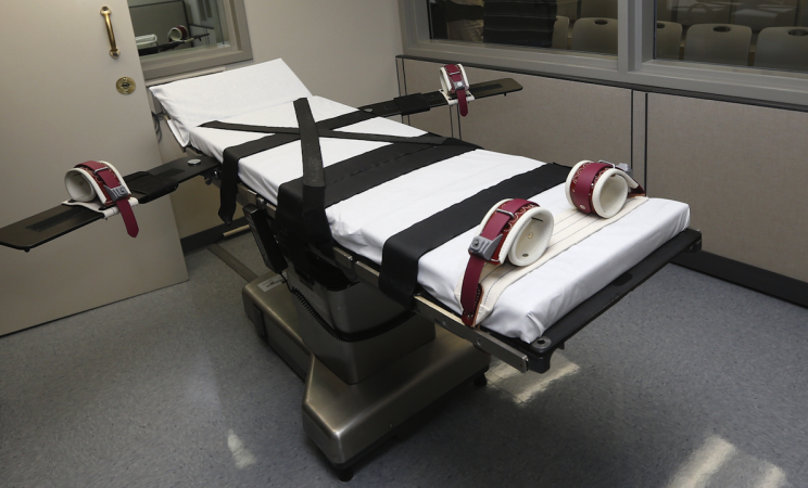 Executions have fallen globally by 37 percent (Picture: REX Features)