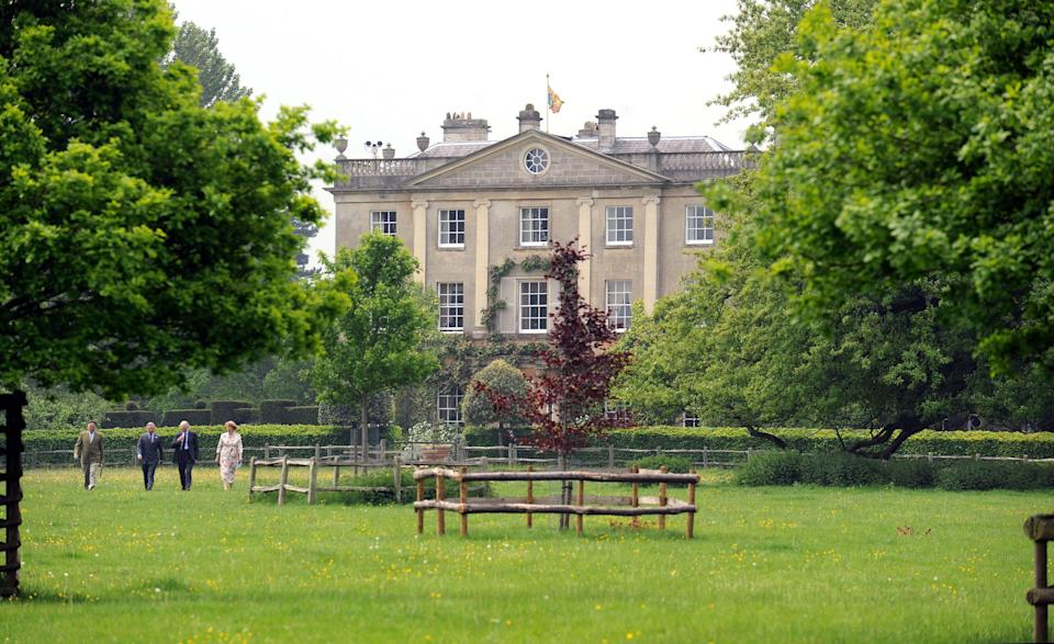 The Wiltshire home is 15 miles from Charles's Gloucester estate, pictured here. (WireImage)