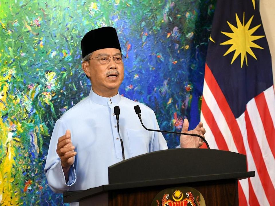 Prime Minister Tan Sri Muhyiddin Yassin gave his assurance that the government is committed to ensuring that the programme runs smoothly. — Bernama pic