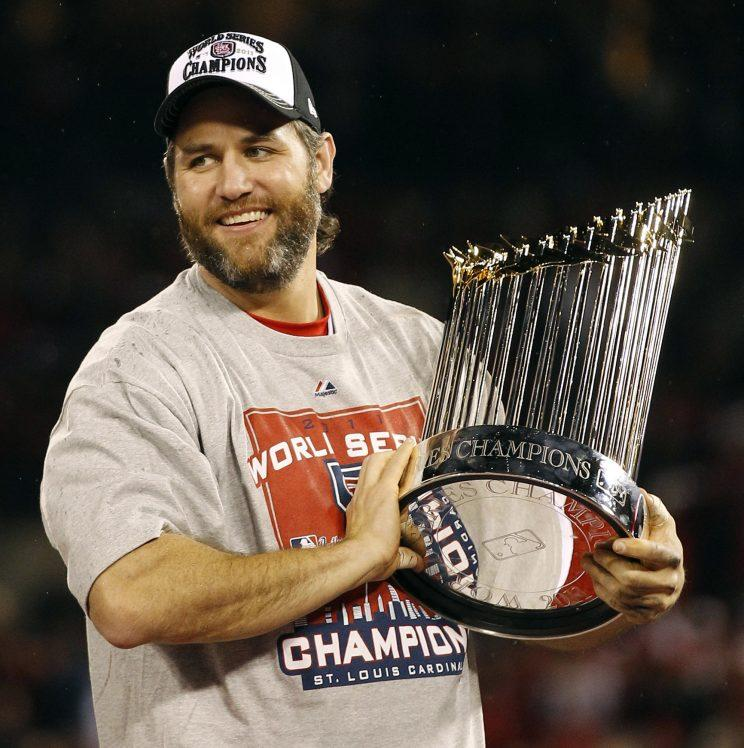 Former Cardinal Lance Berkman will speak at