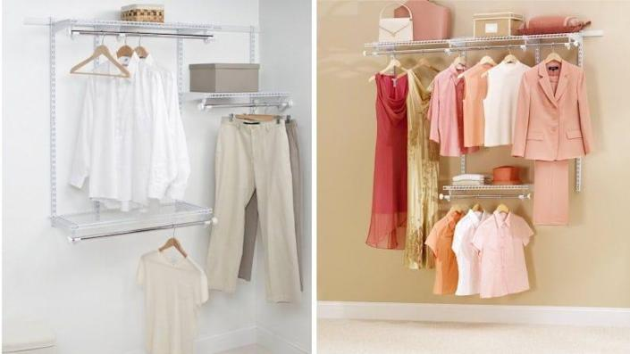 This is the best way to organize your closet.