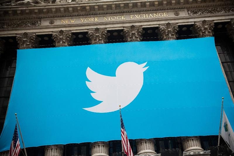 Salesforce.com has reportedly ruled out bidding for Twitter (AFP Photo/Andrew Burton)
